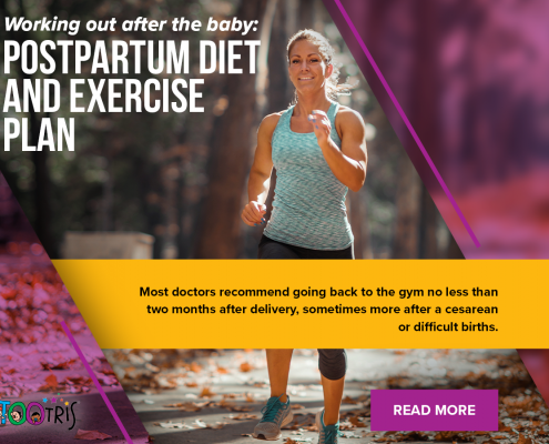 """""""Postpartum exercise and dieting are important for achieving a healthy recovery"""""""