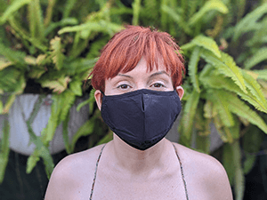 Black-Face-Mask-With-Filter Pocket Covid19