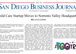 Child Care Startup Moves to Sorrento Valley Headquarters