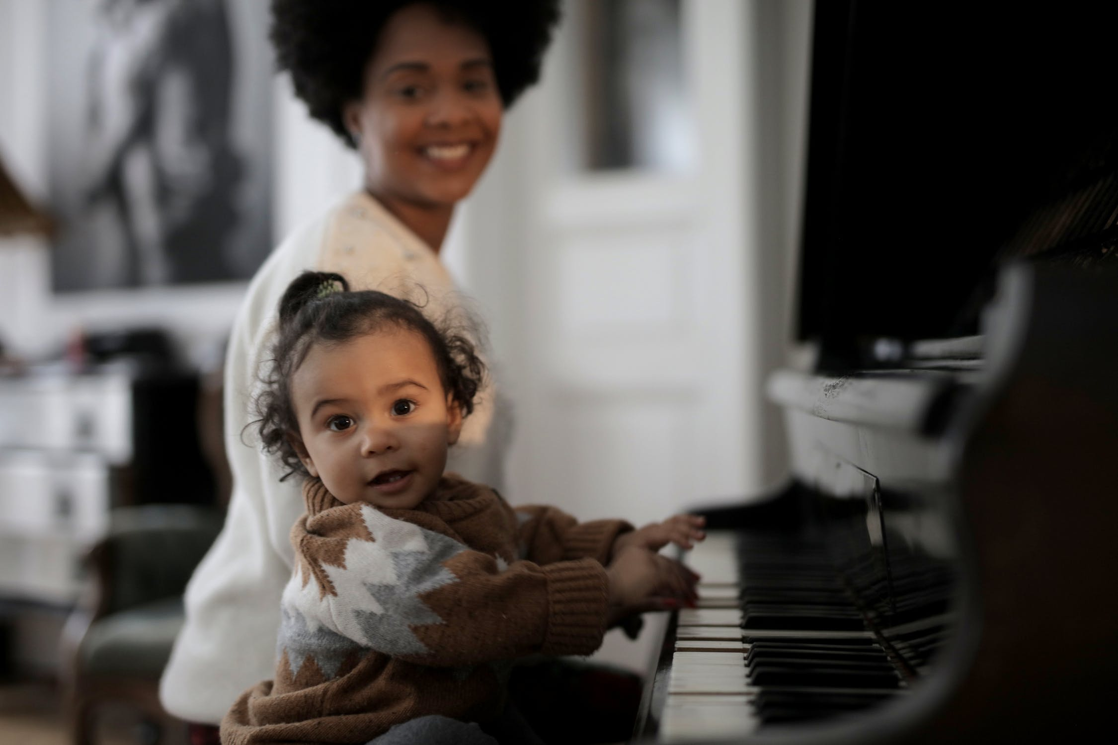Even Babies Can Play Around on the Piano