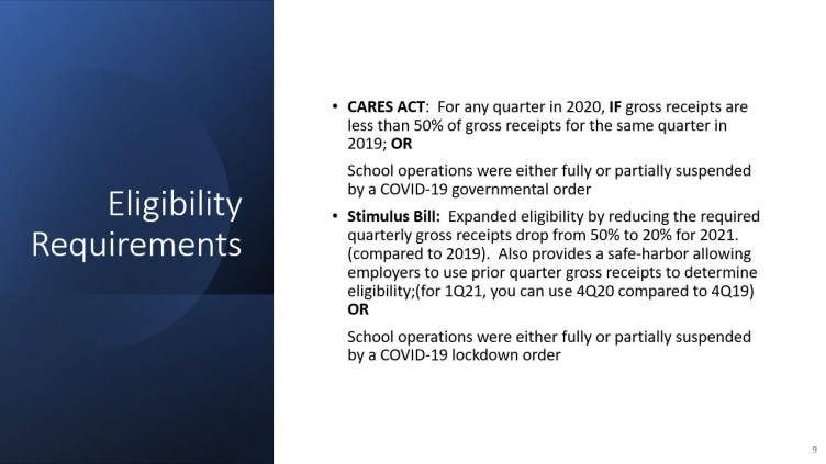Child Care Centers, do you qualify for the new payroll tax ...